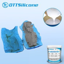 low viscosity silicon for sculpture products with high quality