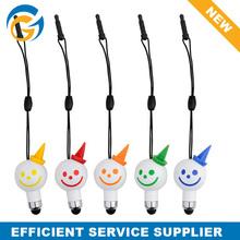 High Quality Mobile Phone Snowman Ball Pen