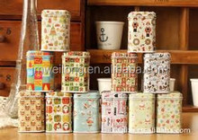 New design metal box/Children Candy Collector/Customized Metal Box/tin/Storage Container