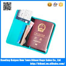 PU leather rfid unique passport wallets for men passport holder wallet 2015