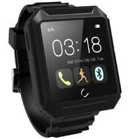 "IP68 Waterproof Watch U TERRA smartwatch &smartphone with 1.54""IPS 300mAh capacity For Android iPhone Samsung S5 Note 4"