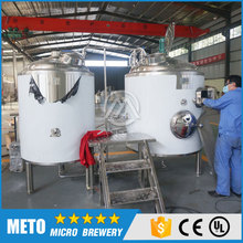 500L Stainless Steel Beer Brewng Equipment Hotel 5HL Beer Making Machine For Sale