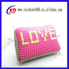 2015 innovation new arrival silicone pixel bag,pixel purse,pixel bag