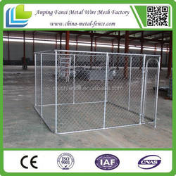 Lockable Door Latch new pet enclosure dog cages with roofing