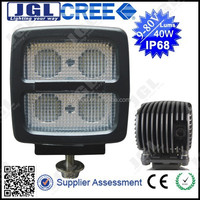 JGL new product led work light, fog led amber work lamp cree IP68