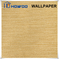 Howoo pure color natural design best quality wallpaper for home