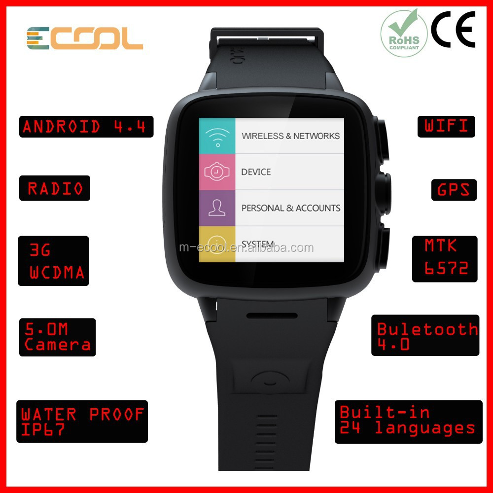 Fashion Sport Wearable Technology Devices Android Wifi ...