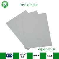 1mm/2mm/3mm top quality grey paper/board