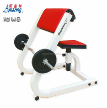Commercial gym equipment wholesale Preacher Curl Bench free weight AMA325