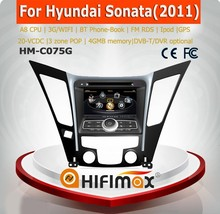 hyundai sonata digital touch screen car radio
