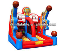 exciting inflatable basketball shooting/basketball game inflatables/inflatable sport game