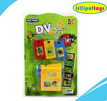 Children Promotion Gift DV Carton Insect Image Viewer Toys