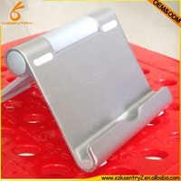 Aluminium alloy mobile phone stand holder with leg adjustable