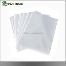 11 holes sheet transparent a4 punched pocket sheet protector