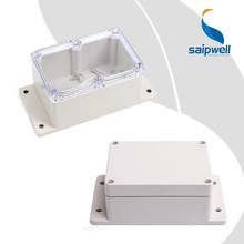 Saipwell IP66 plastic outdoor electrical junction enclosure ,ABS waterproof box with hinges