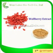 Water Soluble Goji Berry Extract/Goji extract powder/Goji berry P.E. powder