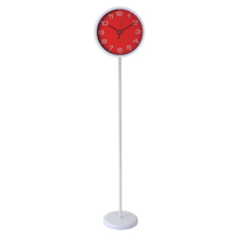 Stationery office guangzhou plastic Quartz modern standing clocks