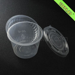 Disposable Plastic Salad Plate and Bowl