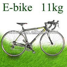 Carbon fork RWD motor powered off road electric bike