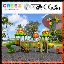 Kindergarten Colorful Kids Play Outdoor Playground Equipment