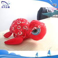 Plush stuffed kids souvenir 100% pp stuffed animal /plush soft red carton turtle 2015 popular nice beautiful baby toy