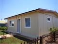 Buen diseño estructura de acero prefabricada casas villa