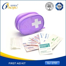 With CE FDA Certificate Emergency basic 2013 promotion first aid kit for burns burncare kit
