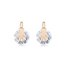 9337 stone jewelry design software flower earrings