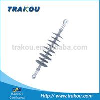 Trakou 33KV high voltage silicone rubber composite suspension insulator /pot insulator / polymer insulator