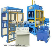QT7-15B used brick making machine for sale simple automatic production line