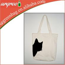 Cat Printing Canvas Tote Bag