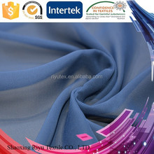 China direct factory 30D/ 50D/ 75D/ 100D polyester silk wholesale chiffon fabric