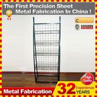 Kindle custom small goods display shelves metal display rack