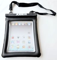 Custom TPU ECO Waterproof Case/Bag for iPad With Lanyard Floating With Zippers