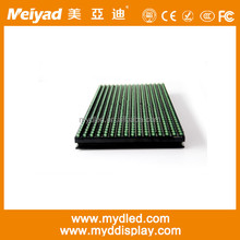 hot sale single color led display module p10 green P10 Green LED Module 32x16 Outdoor IP65