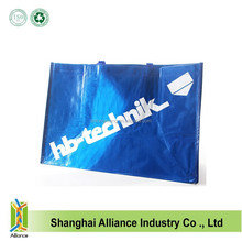 Reuseable Waterproof Customized Logo And Size Cheap Laminated PP Woven Shopping Tote Bag