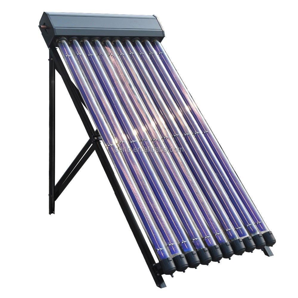 DENO New Patent High Efficiency Heat Pipe Solar Collector with 2% Free Accessory