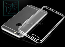 For iphone6/6s transparent Placstic Cell Phone Case ;For Samsung Note4 TPU mobile phone back cover