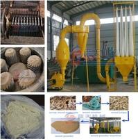 Best selling on India market wood powder production line