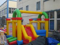 2015 inflatable combo/ super kids bouncy castle