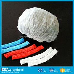 nurses white caps/disposable head cap/disposable surgical caps colorful
