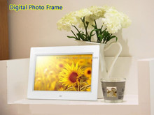 Factory Brand new EXW price 1024x600 High resolution digital photo frame with sd usb