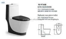 M-9744B China toilet sanitary ware siphoinc color toilet