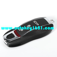 MS 3 button car replacement remote key shell smart key case for porsche panamera 911