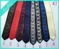 2015 New Design Fashion Men's Shirt Necktie Skinny Tie