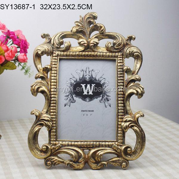 수지 우유 흰색 바로크 사진 사진 프레임 디자인-액자 -상품 ID ...