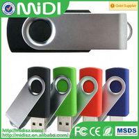 2015 Top sell usb flash! Swivel bulk usb flash drives 2GB with custom logo