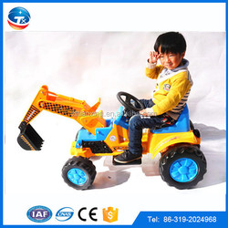 New Model Pass ISO9001:2000 Manufacturer Electric Toy Cars for Kids to Drive Toy Excavator Model For Children