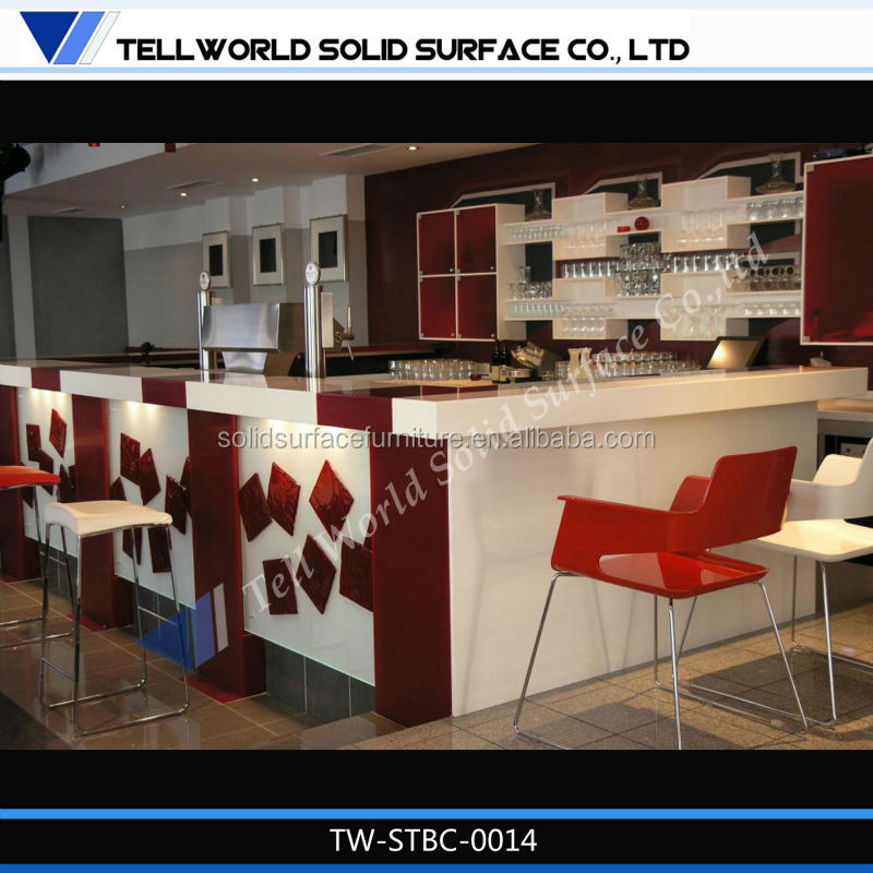 2014 New Year Bar Counter Design Restaurant Bar Counter