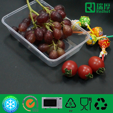 Screen Printing Handling clear food container -650ml